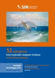 XI CONGRESSO Interregionale Campano-Siciliano