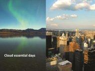 Cloud essential days