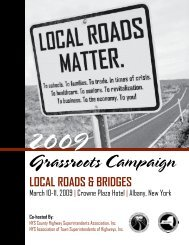 Local Roads and Bridges - National Association of County Engineers