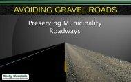 Preserving Municipality Roadways