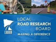 The Local Road Research Board