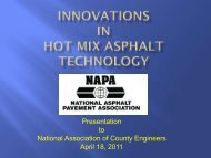 to National Association of County Engineers April 18 2011