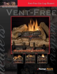 Vent-Free Gas Log Heaters