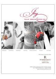 Wedding Menus of Renaissance Samara Hotel ... - Marriott Hotels