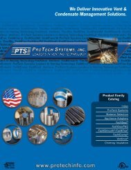 We Deliver Innovative Vent & Condensate Management Solutions