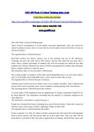 ashford university gen 499 critical thinking quiz