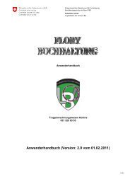 Handbuch FLORY, version Deutsch - Logistikbasis der Armee LBA