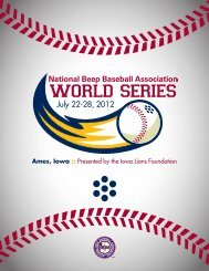 Majors World Series Records 1956-2012 - Dixie Youth Baseball