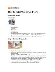 How To Paint Woodgrain Doors