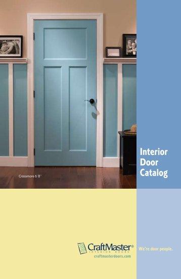 Interior Door Catalog   CraftMaster Interior Doors