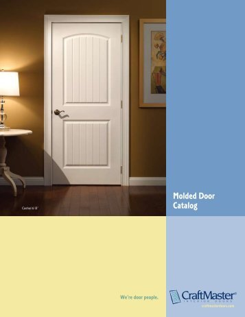 Molded Door Catalog