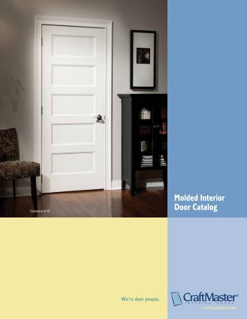 Molded Door Catalog   T.M. Cobb