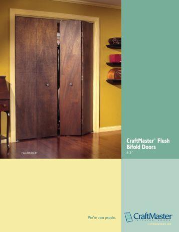 CraftMaster Flush Bifold Doors