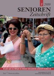 Die gesamte Ausgabe 3/2010 als pdf-Datei - Senioren Zeitschrift ...