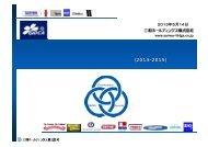 2012年度 決算及び第一次3ヵ年計画説明資料[PDF:970KB] - 三和 ...