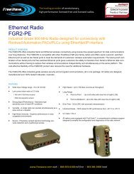 Ethernet Radio FGR2-PE