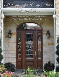 Mahogany &Knotty Alder Entry Doors