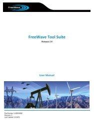 FreeWave Tool Suite