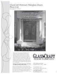Premium Fiberglass Entry Doors