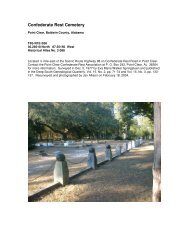Confederate Rest Cemetery - RootsWeb