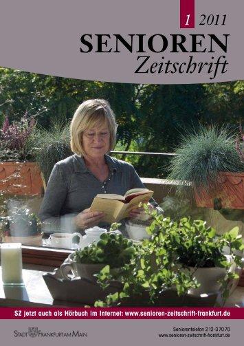 Zeitschrift - Senioren Zeitschrift Frankfurt