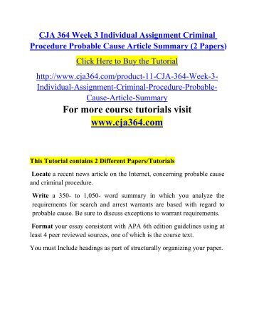 CJA 354 V4 Week 2 Team Assignment Insanity Defense Paper and Paper 2