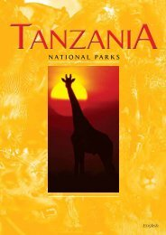 Tanzania National Parks Brochure