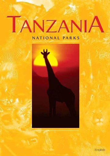 Tanzania National Parks Brochure
