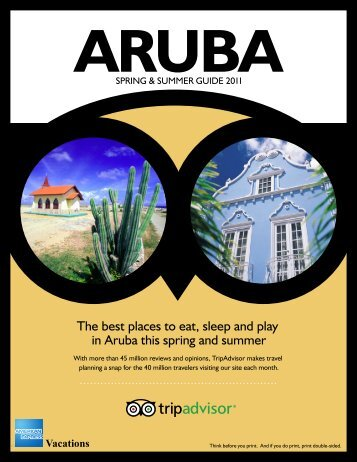 The best places to eat, sleep and play in Aruba this spring and ...