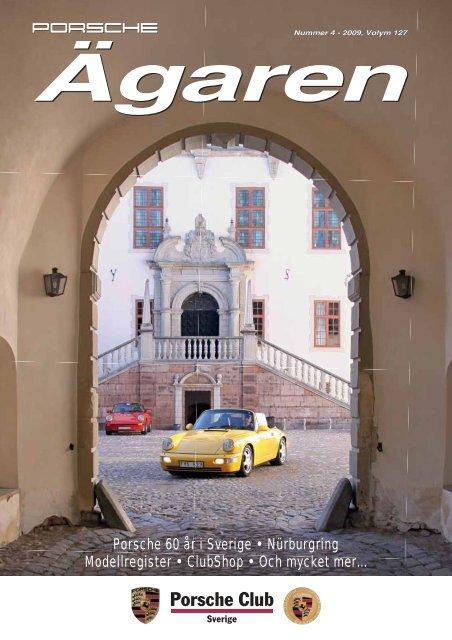 Porsche 60 år i Sverige • Nürburgring Modellregister • ClubShop ...