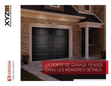 La porte de garage pensée dans les moindres détails