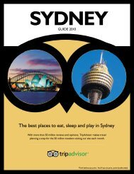 The best places to eat, sleep and play in Sydney - TripAdvisor