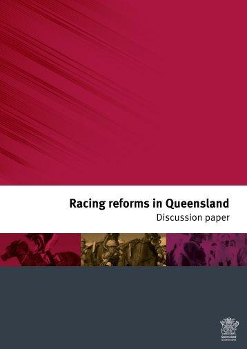 Racing reforms in Queensland