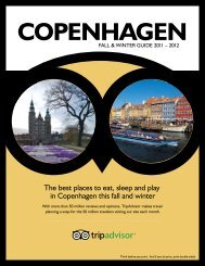The best places to eat, sleep and play in Copenhagen ... - TripAdvisor