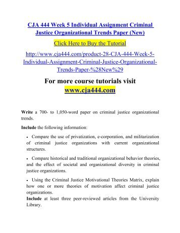 describe methods for exerting control in an organizational setting in criminal justices This paper will discuss organizational effectiveness apply theories of organizational effectiveness to the management of criminal justice personnel it will also describe methods for exerting control in anshow more content.