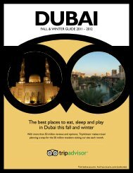 The best places to eat, sleep and play in Dubai this fall ... - TripAdvisor