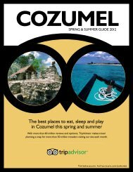 The best places to eat, sleep and play in Cozumel this ... - TripAdvisor