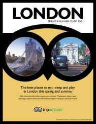 The best places to eat, sleep and play in London this ... - TripAdvisor
