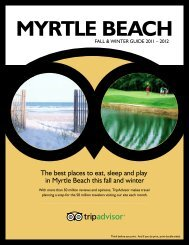 The best places to eat, sleep and play in Myrtle Beach ... - TripAdvisor