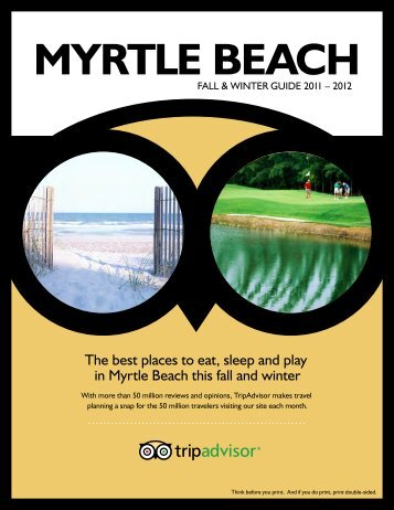 Top  Places To Eat In North Myrtle Beach