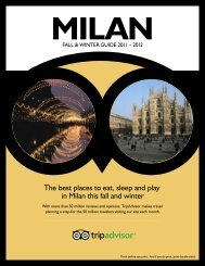 The best places to eat, sleep and play in Milan this fall ... - TripAdvisor