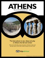 The best places to eat, sleep and play in Athens this ... - TripAdvisor