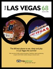 The 68 best places to eat, sleep and play in Las Vegas ... - TripAdvisor