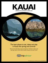 The best places to eat, sleep and play in Kauai this ... - TripAdvisor