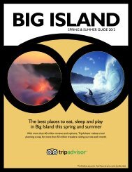 The best places to eat, sleep and play in Big Island this ... - TripAdvisor