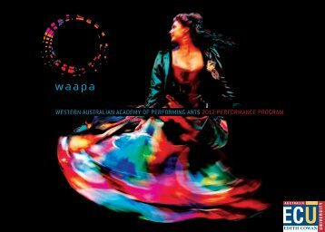 WAAPA DIRECt - Western Australian Academy of Performing Arts