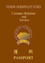 Manual on Module IV – Customer