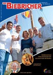 DER BIEBRICHER, Ausgabe 285, August 2015