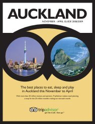 The best places to eat, sleep and play in Auckland this ... - TripAdvisor