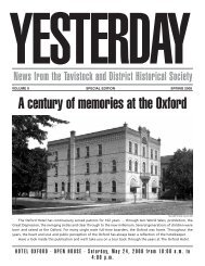 A century of memories at the Oxford - Tavistock and District ...